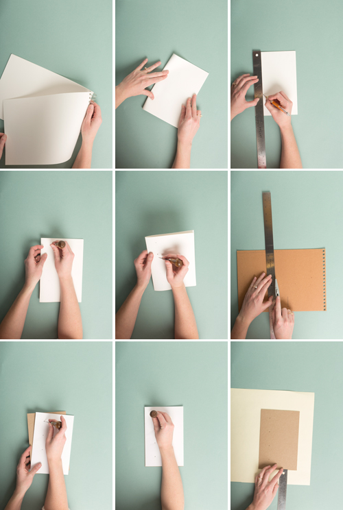 Whats the best way to make a book out of paper?