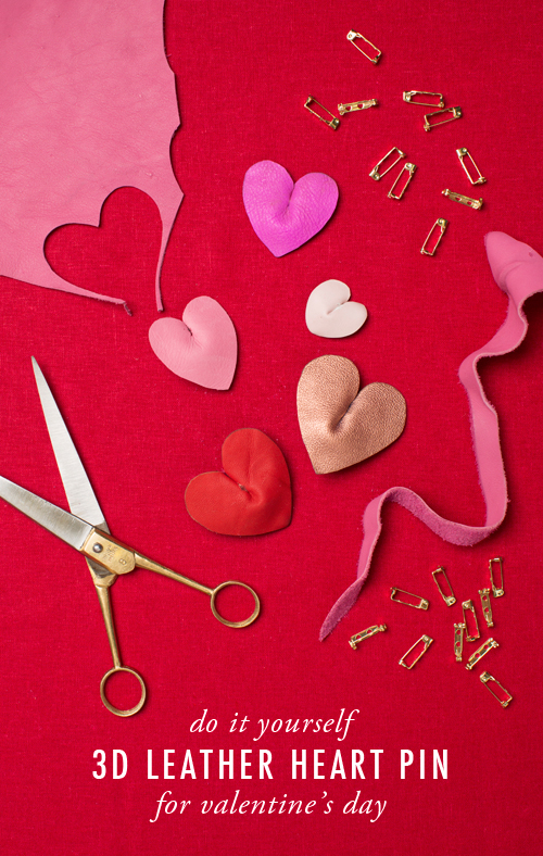3D leather heart tutorial