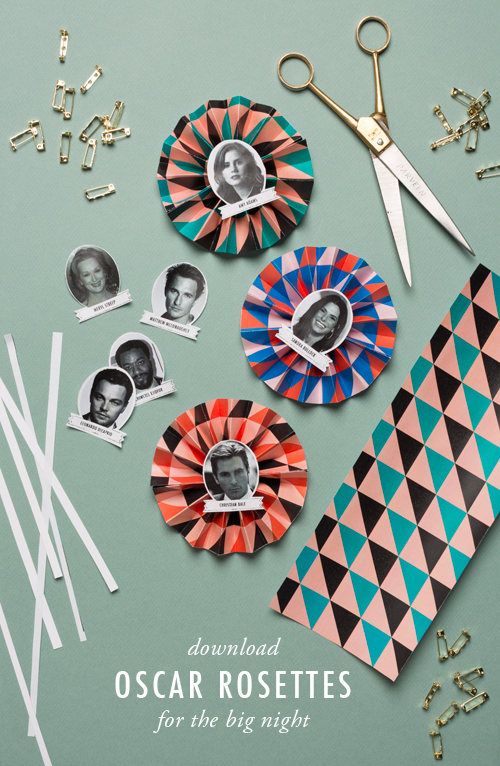 rosettes for 2014 Oscar nominees