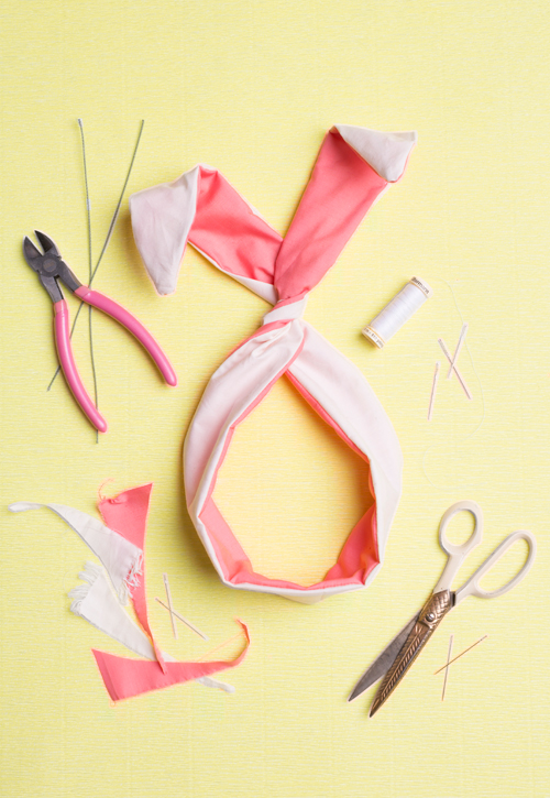 Diy Bunny Ears Twist Tie Page 2 Of 3 The House That