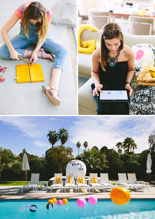 Palm Springs crafting retreat