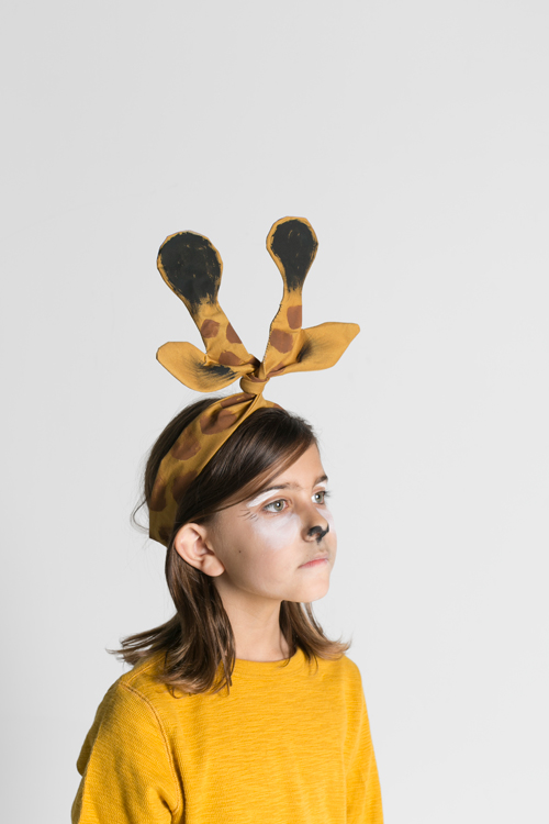 Giraffe ears twisty headwrap