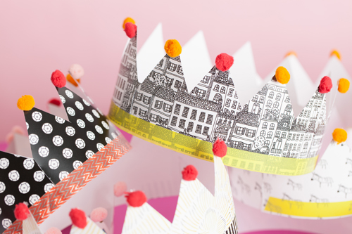 Printable paper crowns the house that lars built photography by laura sumrak illustrated crowns by kate zaremba styling and crafting by brittany jepsen pronofoot35fo Choice Image