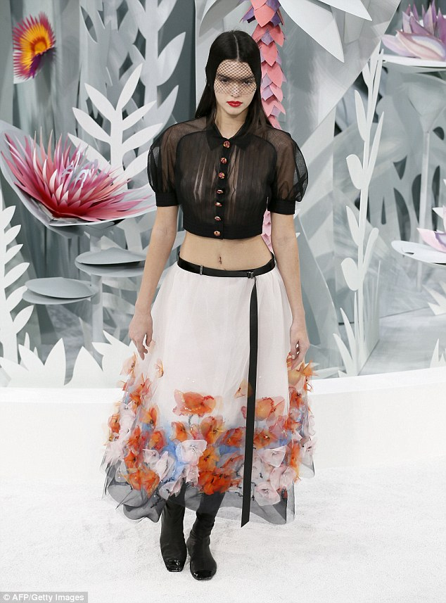 Kendall Jenner Chanel Couture spring 2015
