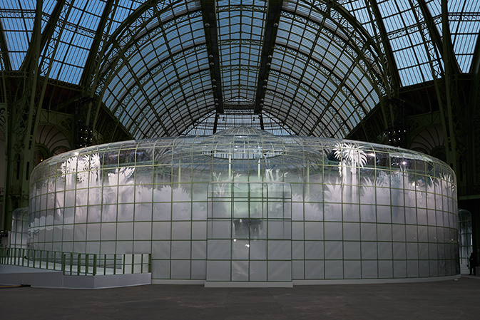 Chanel couture spring 2015 botanical Grand Palais