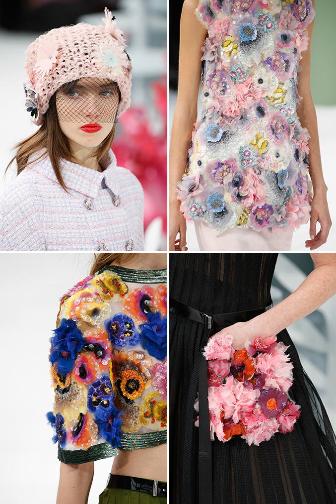 Chanel haute couture spring 2015 the house that lars built for Haute couture details