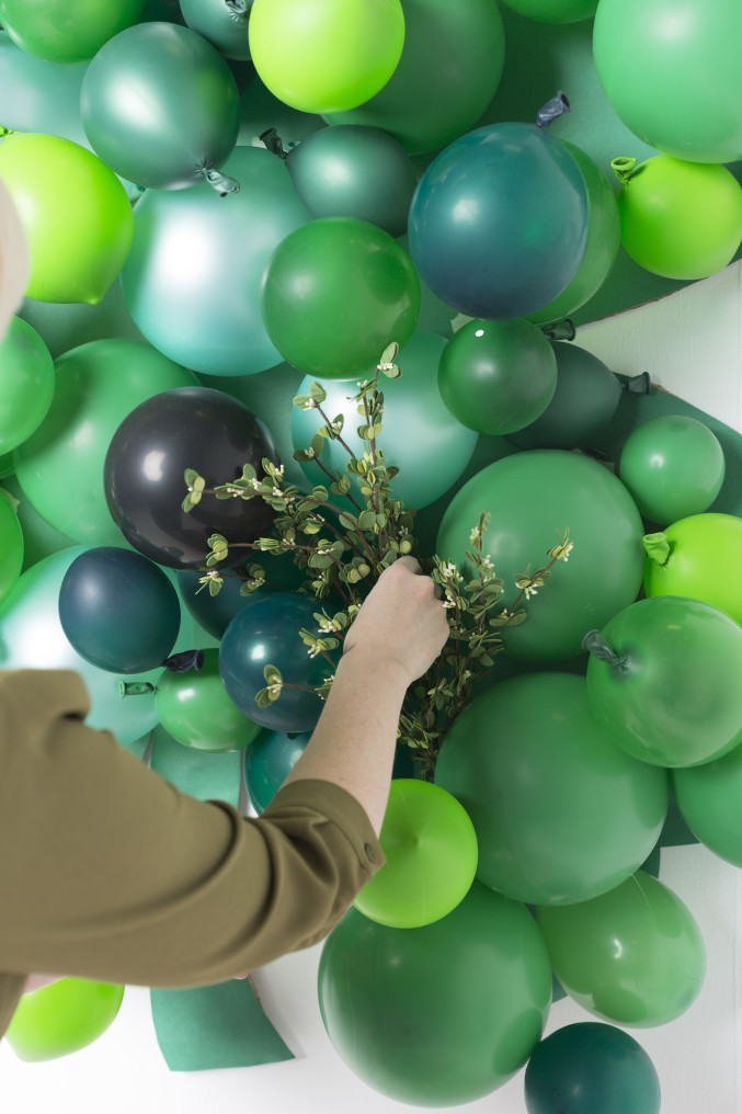 balloon shamrock