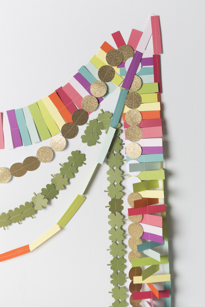 DIY Gold Coin Garland for St. Patrick's Day