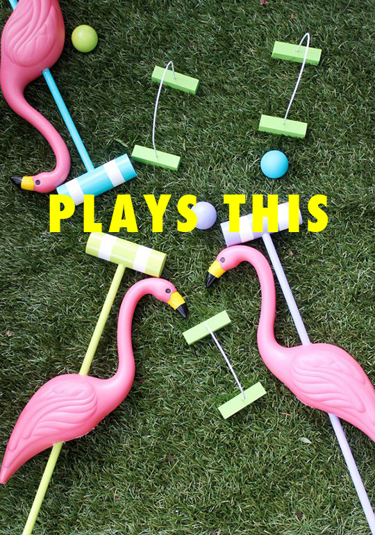 FLAMINGO CROQUET