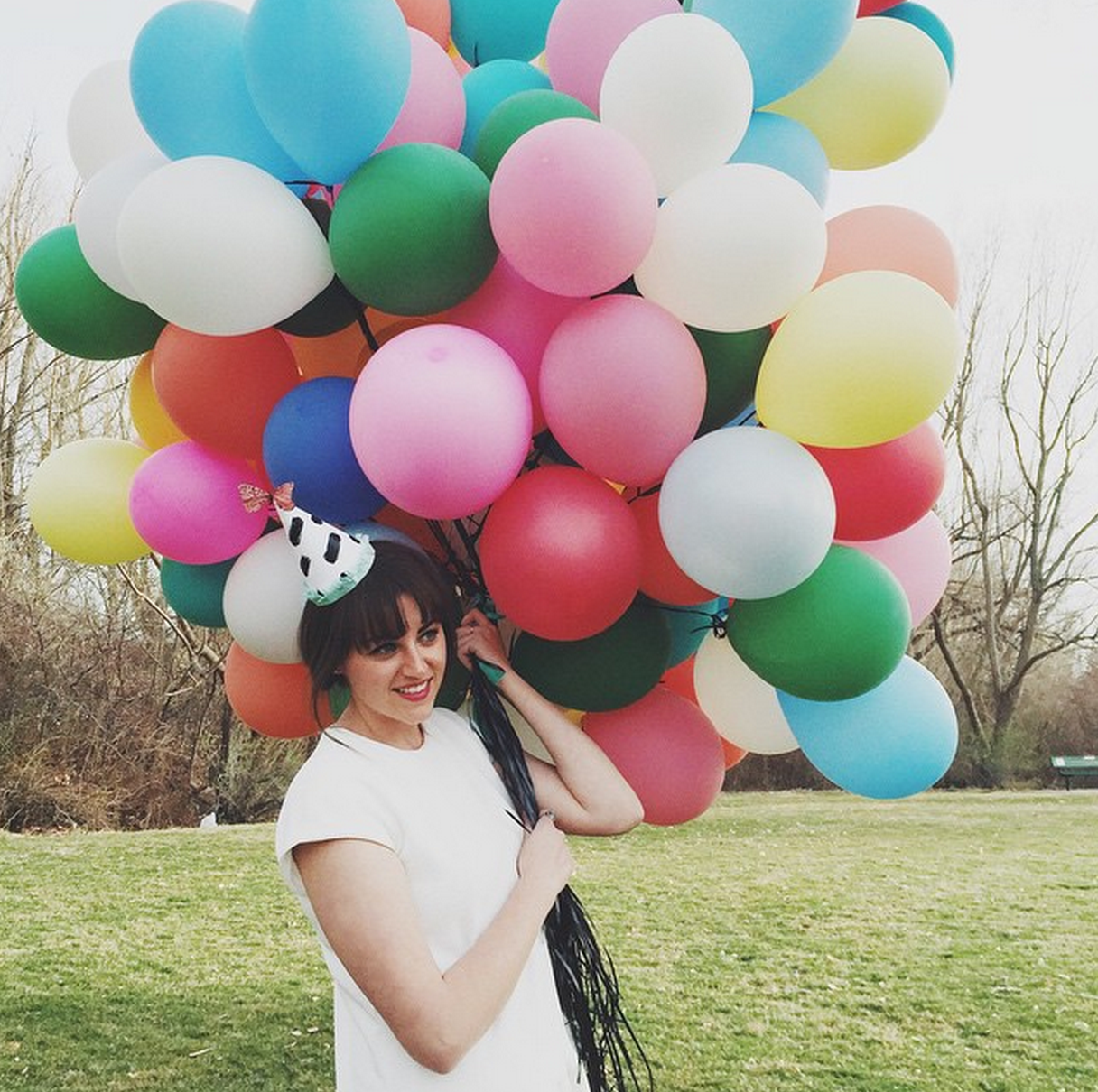 Balloon baby shower