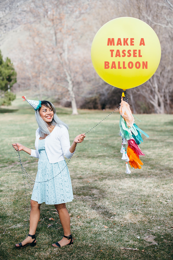 Make a tassel balloon
