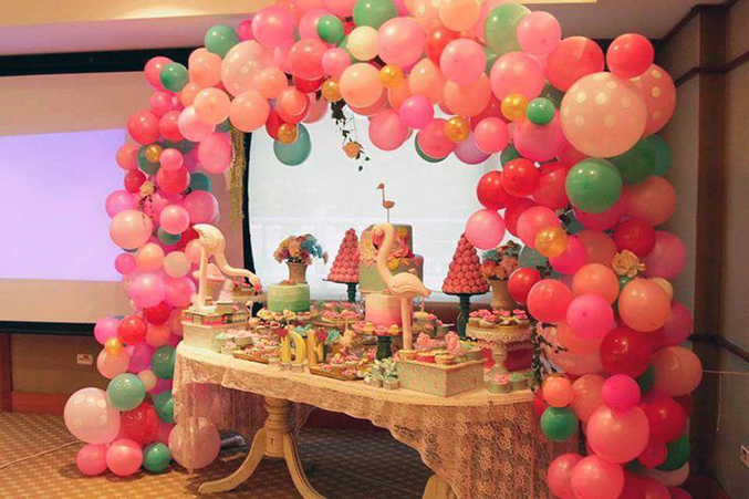 BALLOON ARCH FAIRY PARTY
