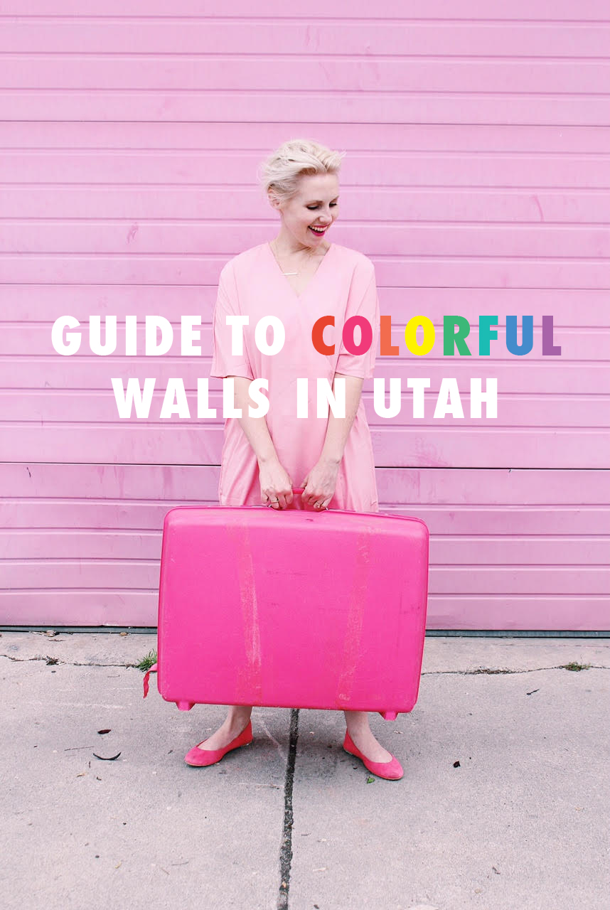 Guide to colorful walls in Utah Valley and SLC - The House That Lars ...