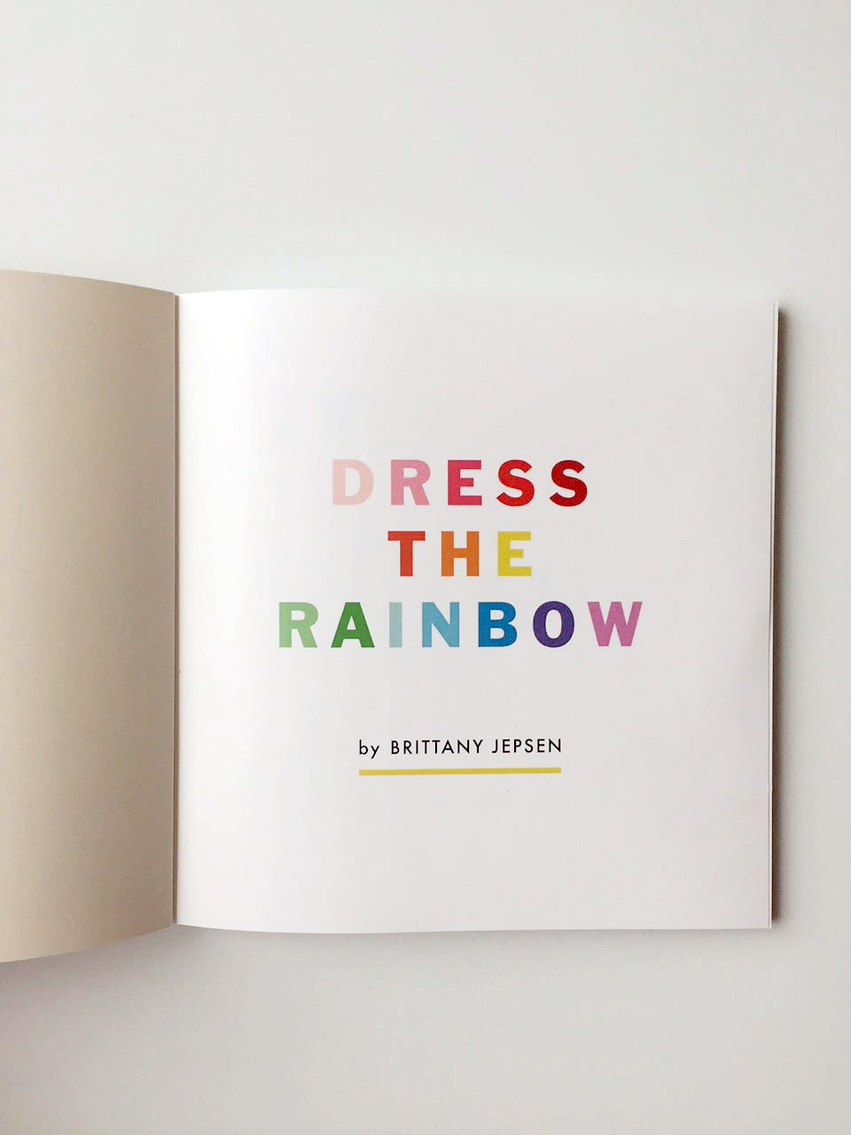 Dress the Rainbow book