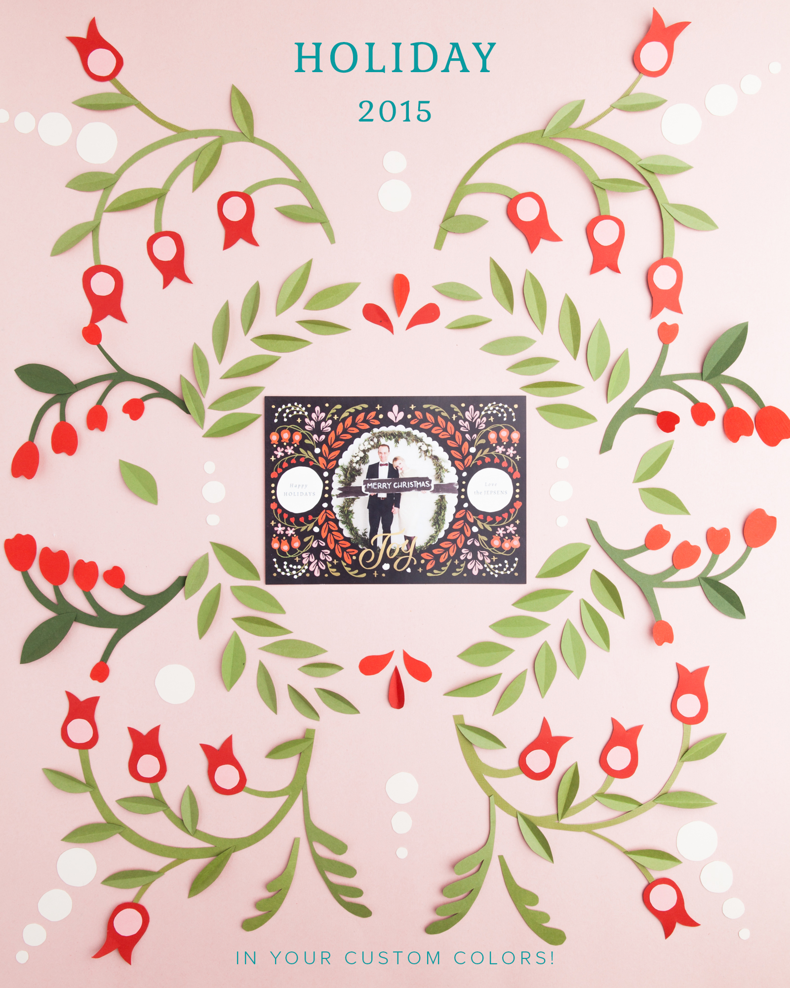 Holiday cards 2015 with Modify Ink