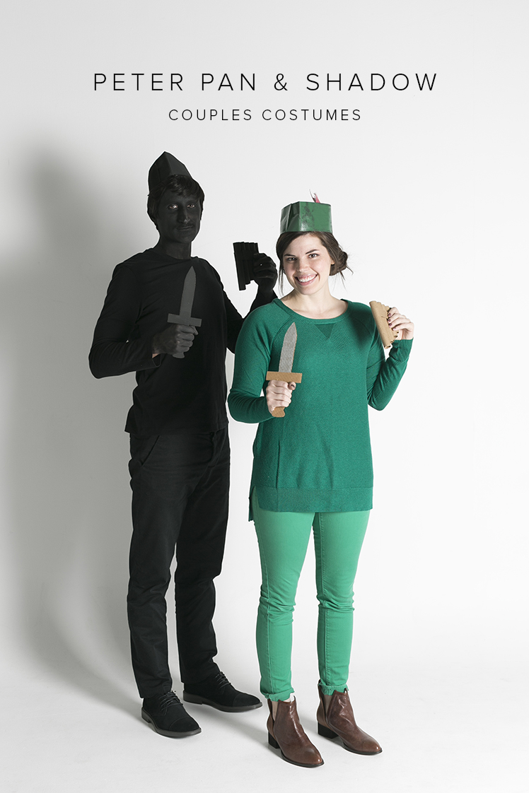 Last minute couples costumes Peter Pan  sc 1 st  The House that Lars Built & Last minute couples costumes with Peter Pan and Shadow