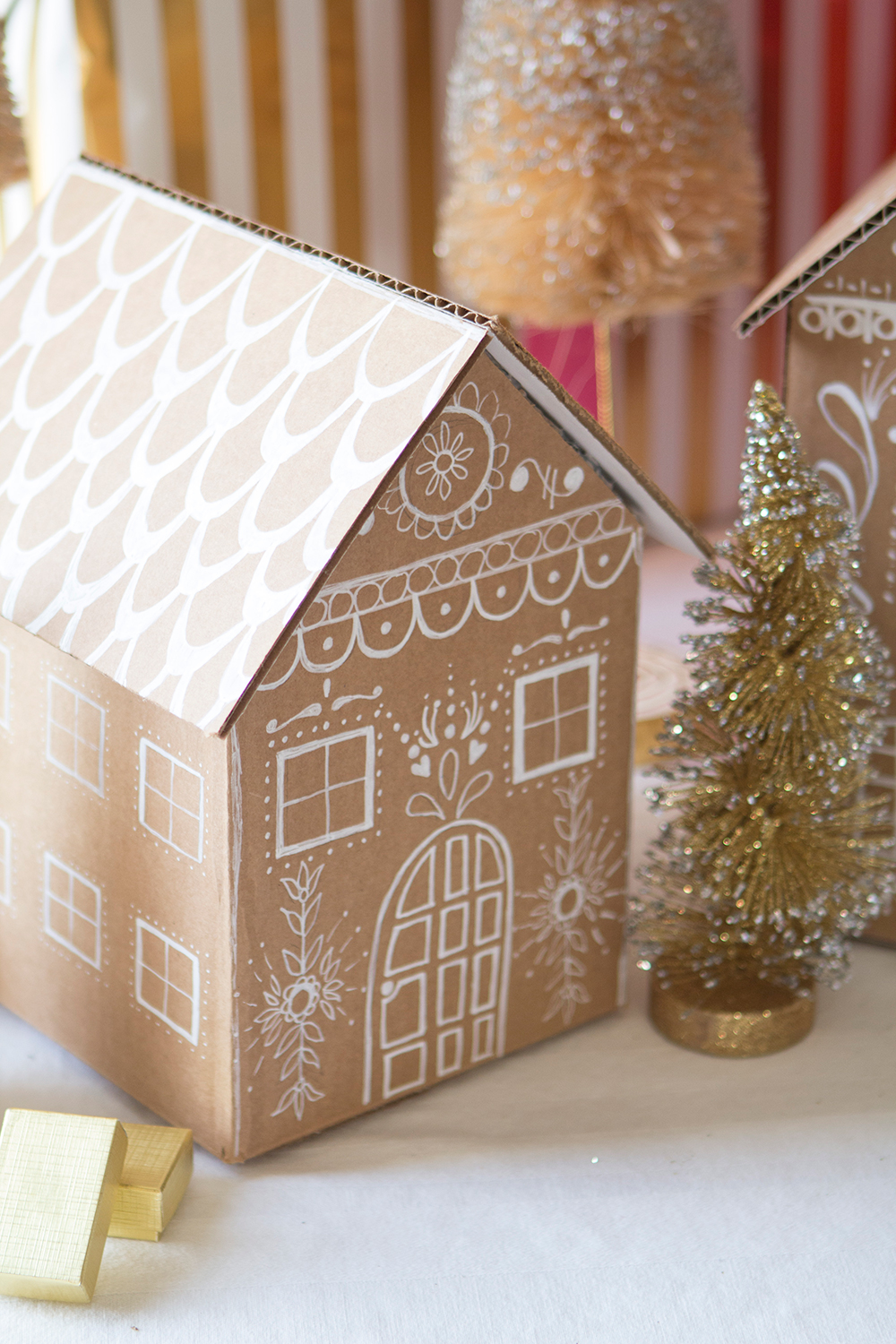 Diy Gingerbread Gift Box Video The House That Lars Built