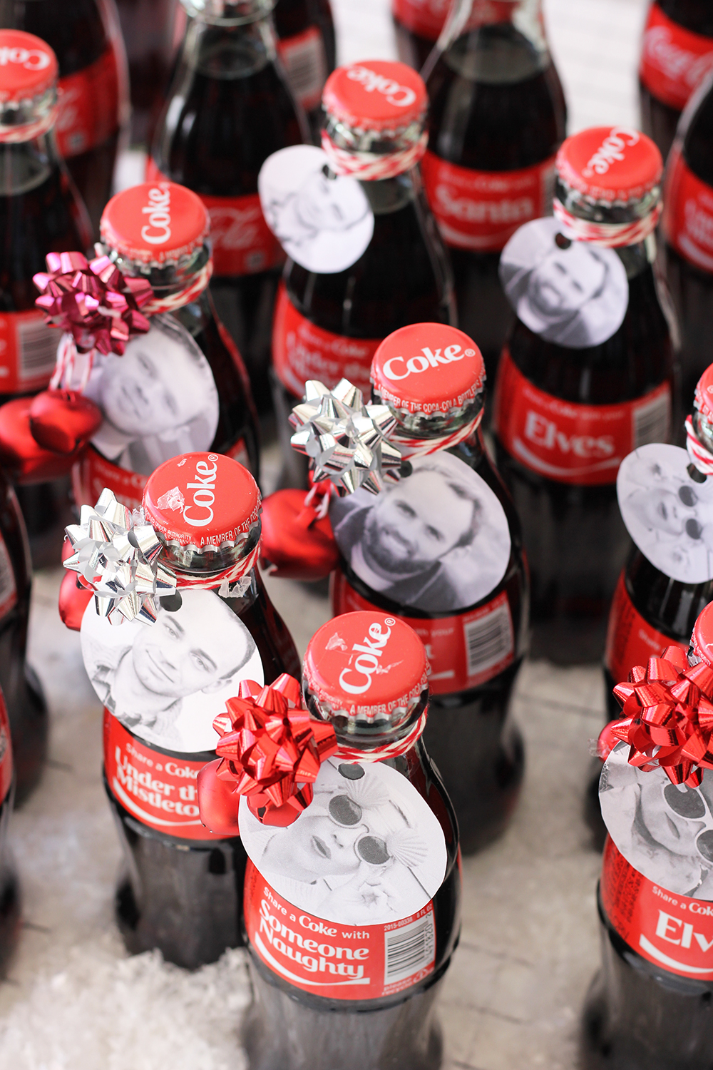 Share a coke blast from the past holiday party with The House That Lars Built