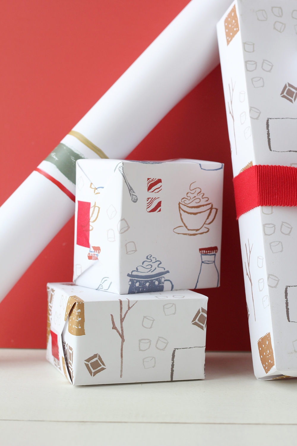 holiday wrapping paper Usually, kids probably prefer you to wrap their presents in wrapping paper with their favorite tv character on it here are a few fun interactive gift wrapping ideas, ways to make the outside of your (favorite holiday.