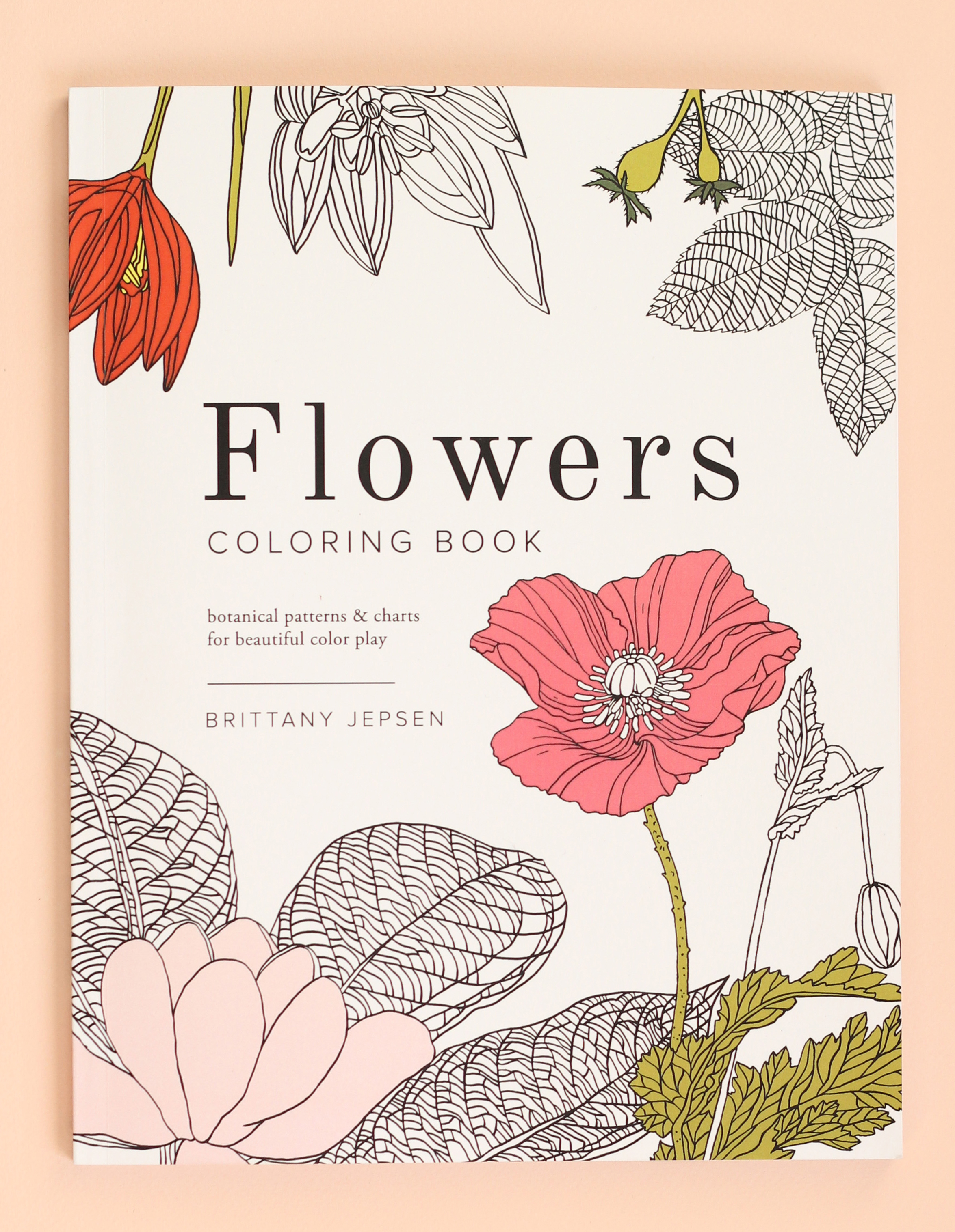 Flowers Coloring Book The House That Lars Built