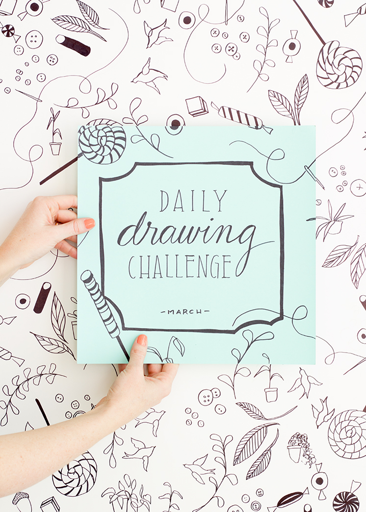 Daily drawing challenge for March! You're invited!