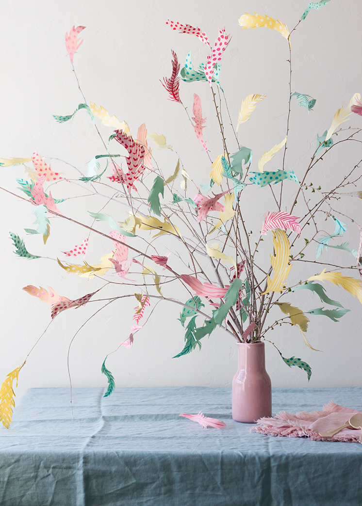 Diy Paper Swedish Easter Tree The House That Lars Built