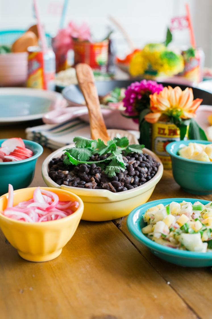 Cinco de Mayo Mexican Food Black Bean Dinnerware Joss and Main