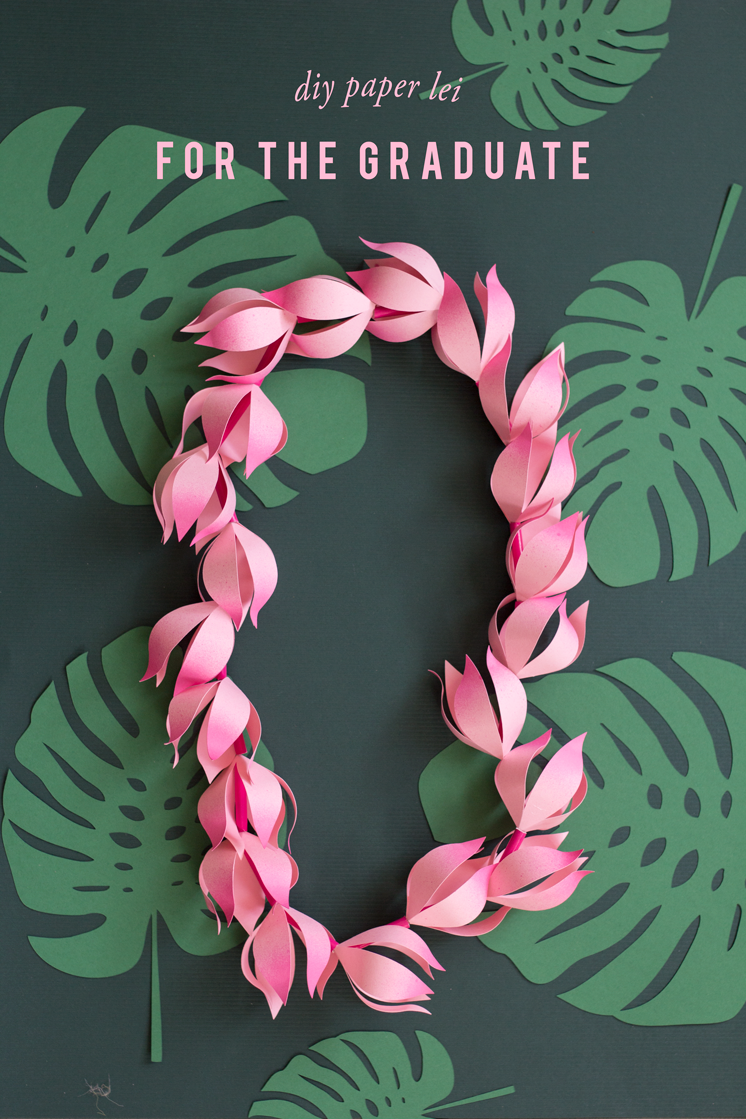 Diy Paper Lei For Graduation The House That Lars Built
