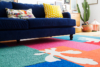 DIY cut out Matisse rug