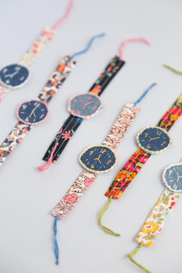DIY fabric watch