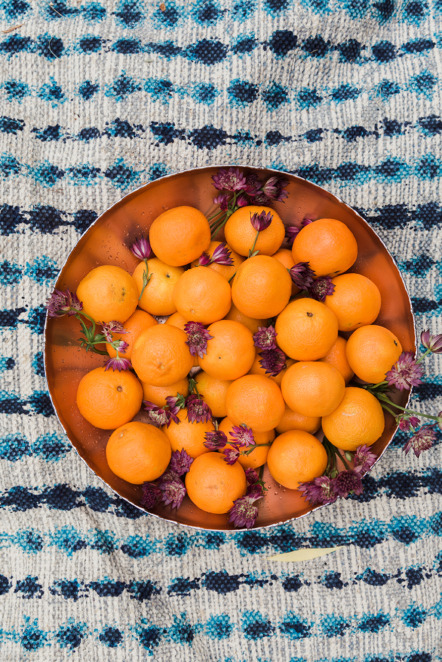 clementines in Crate and Barrel bowl