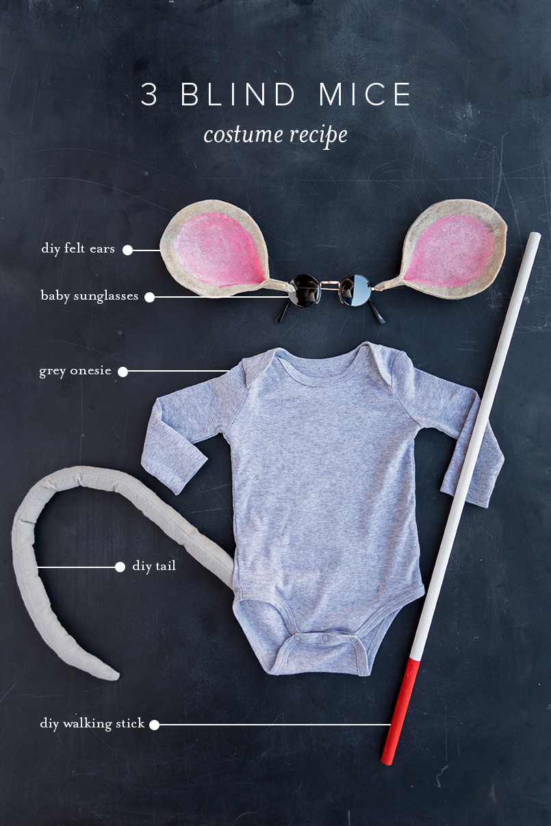 cute costume for baby 3 blind mice