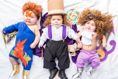Oscar Tribute baby costumes