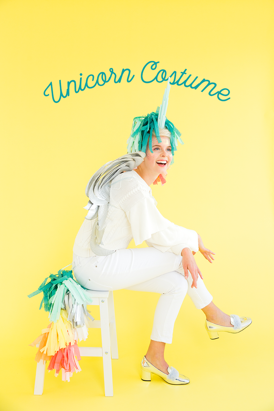 DIY unicorn costume video