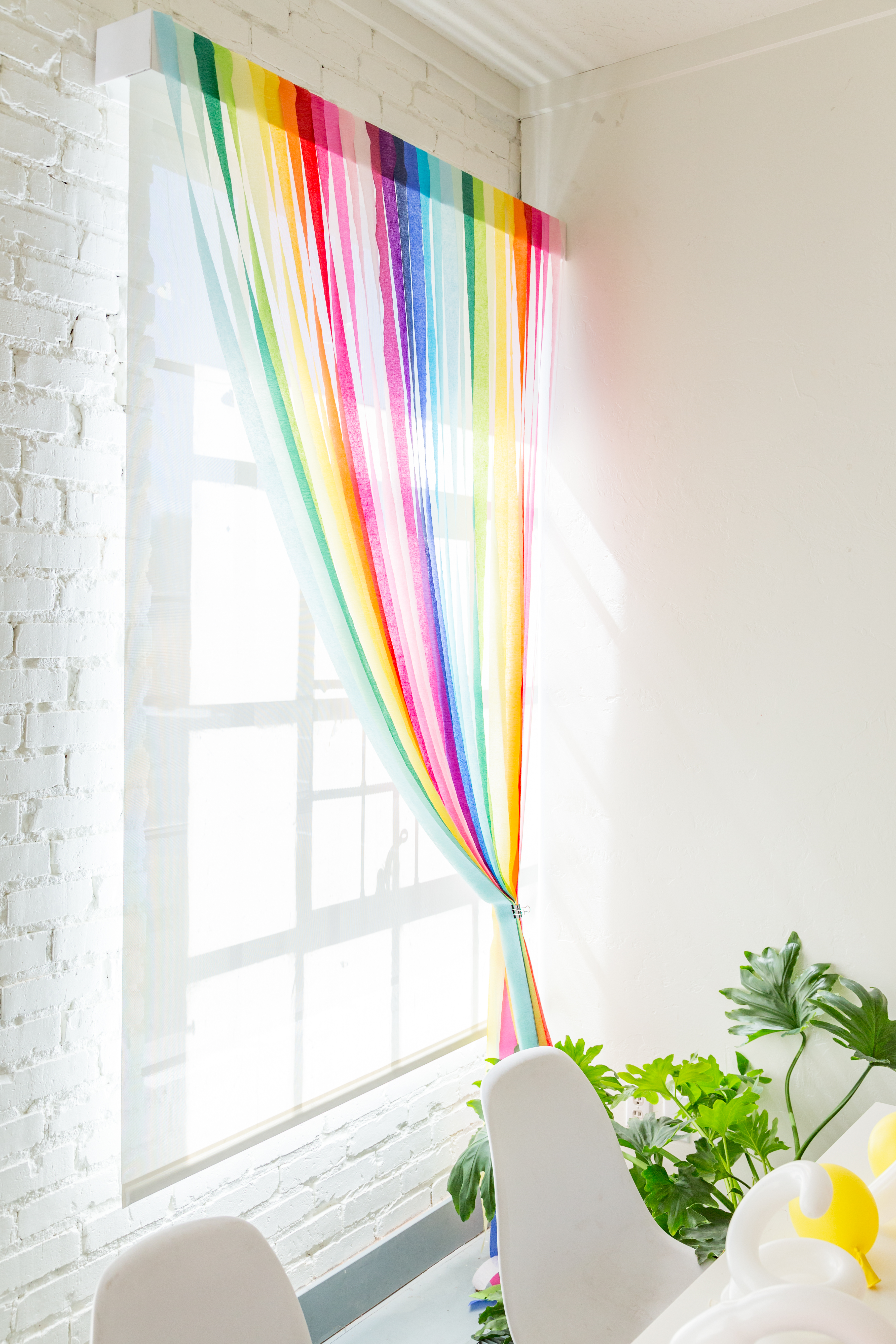 streamer curtains