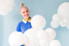 DIY cloud ballon decorations