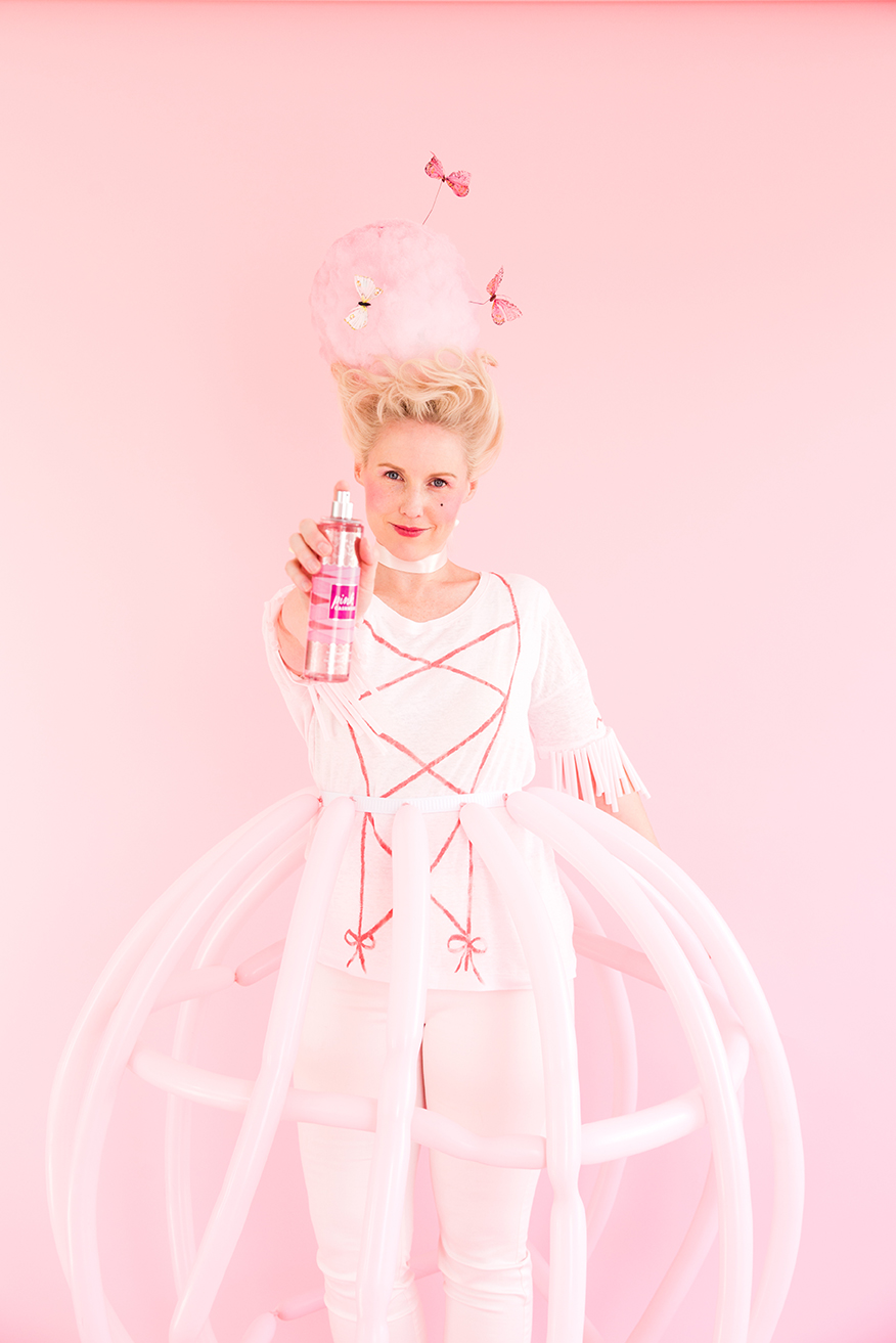 DIY Marie Antoinette Halloween costume DIY Marie Antoinette Halloween costume ...  sc 1 st  The House that Lars Built & 3 last minute DIY costumes from your craft closet - The House That ...