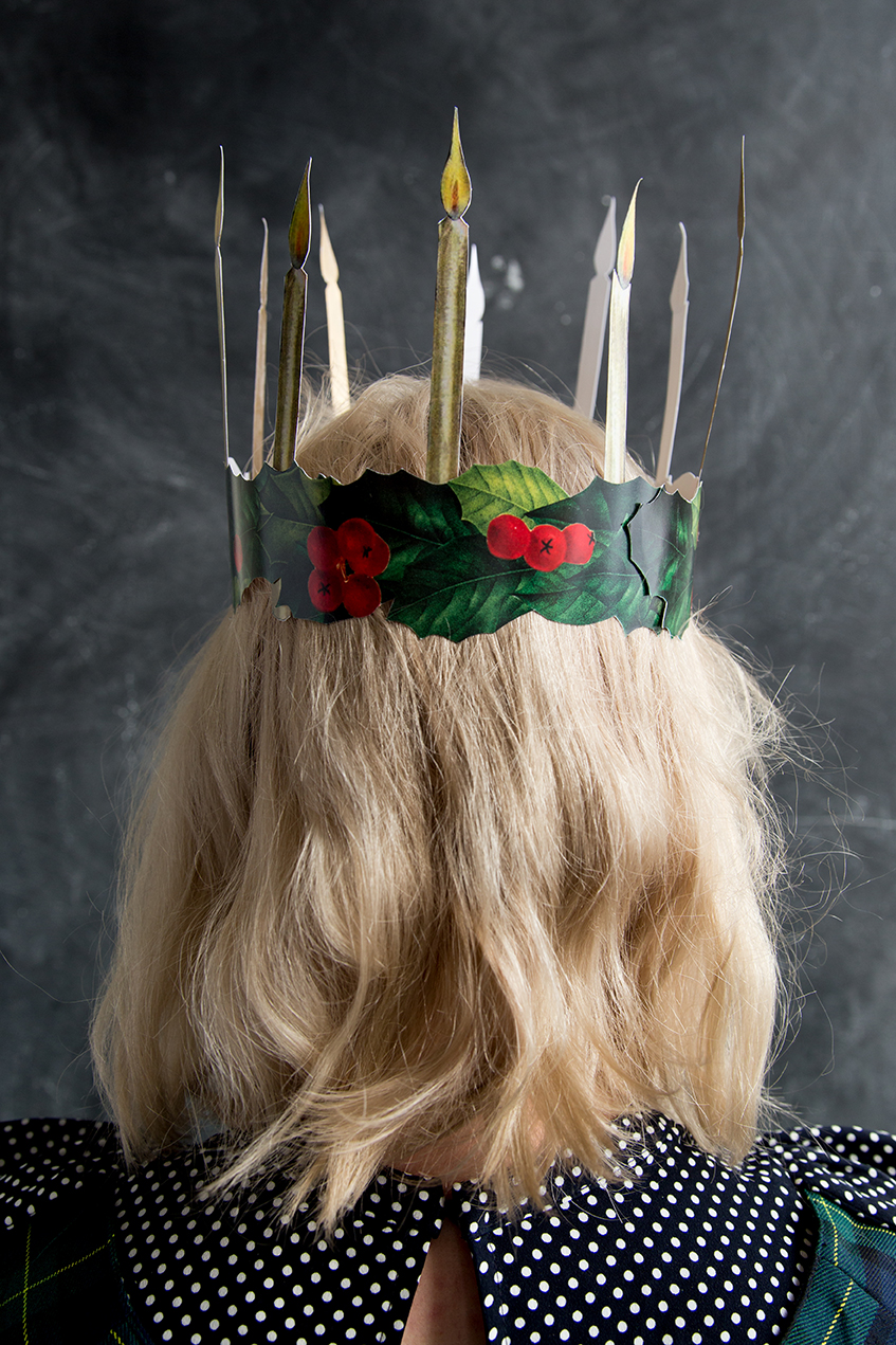 Printable St. Lucia crown