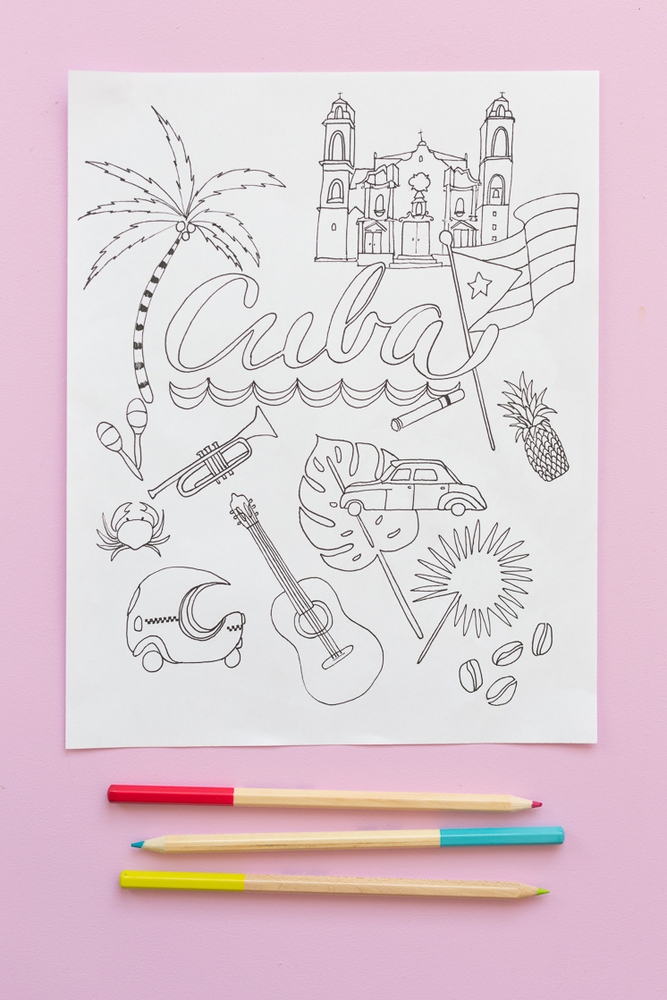 Cuba Coloring Pages The House That Lars Built