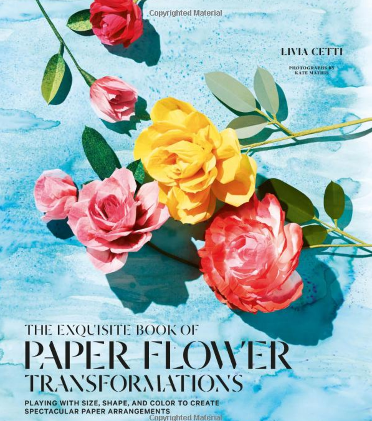 The Exquisite Book of Paper Flower Transformations