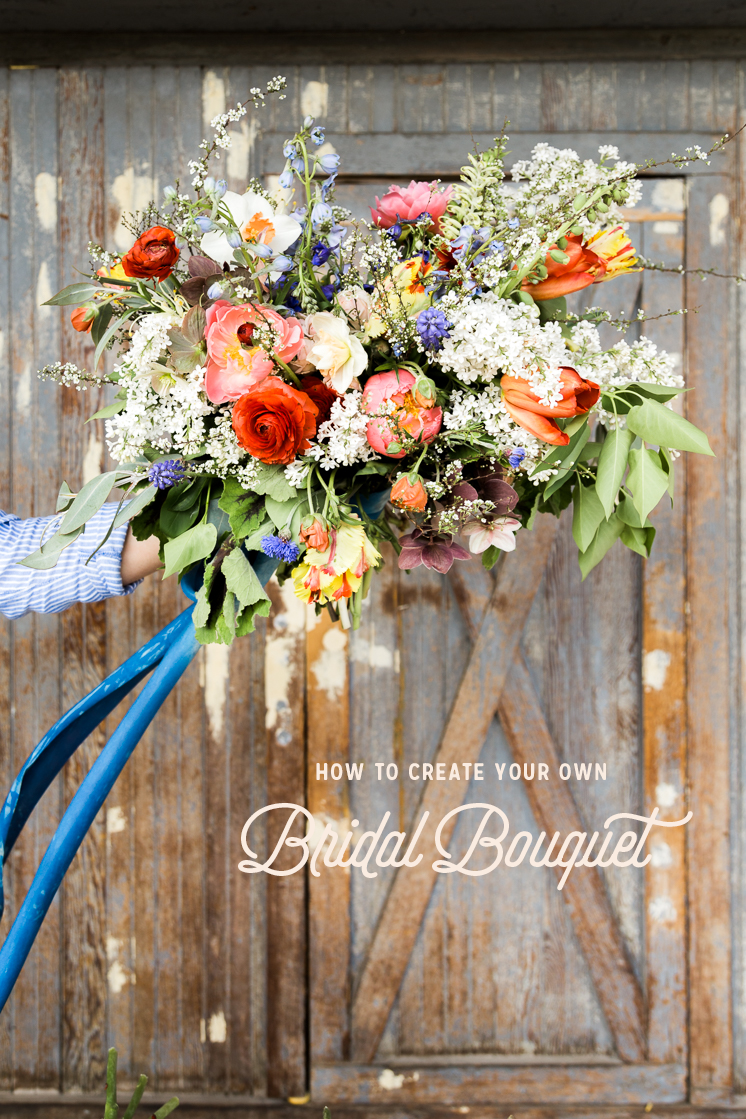 How to Make your own Bridal Bouquet - The House That Lars Built