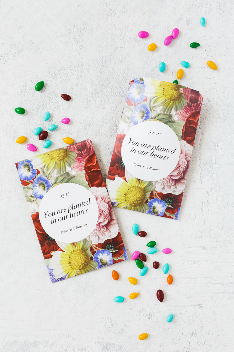 Printable Seed Packet Favor