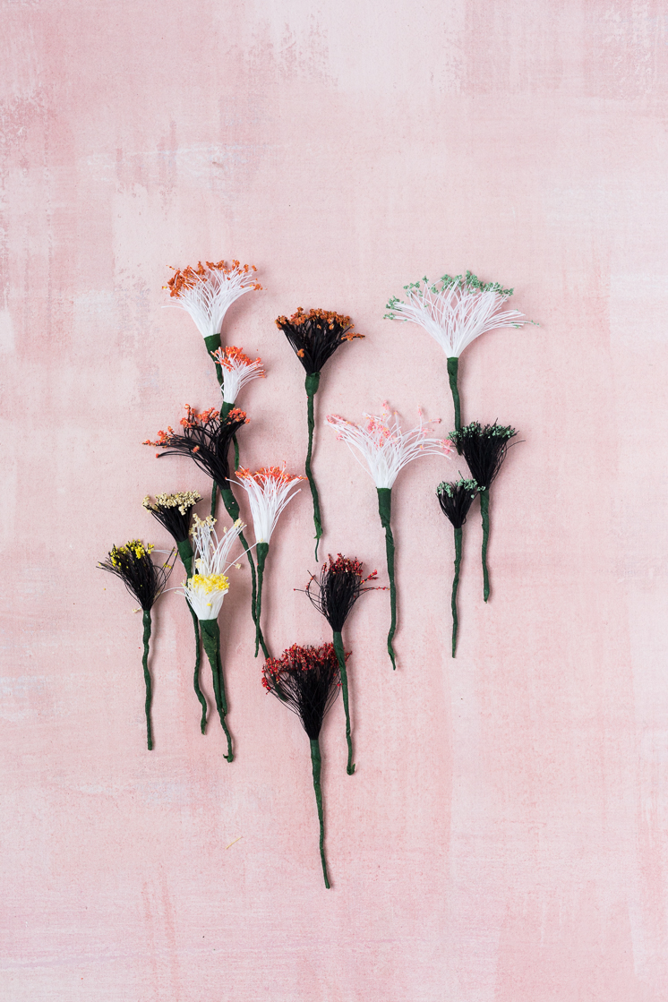 Make your own flower stamens