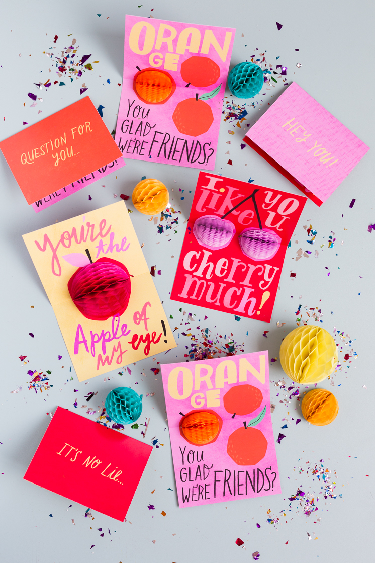 honeycomb pop up cards