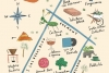 Illustrated Downtown Las Vegas map