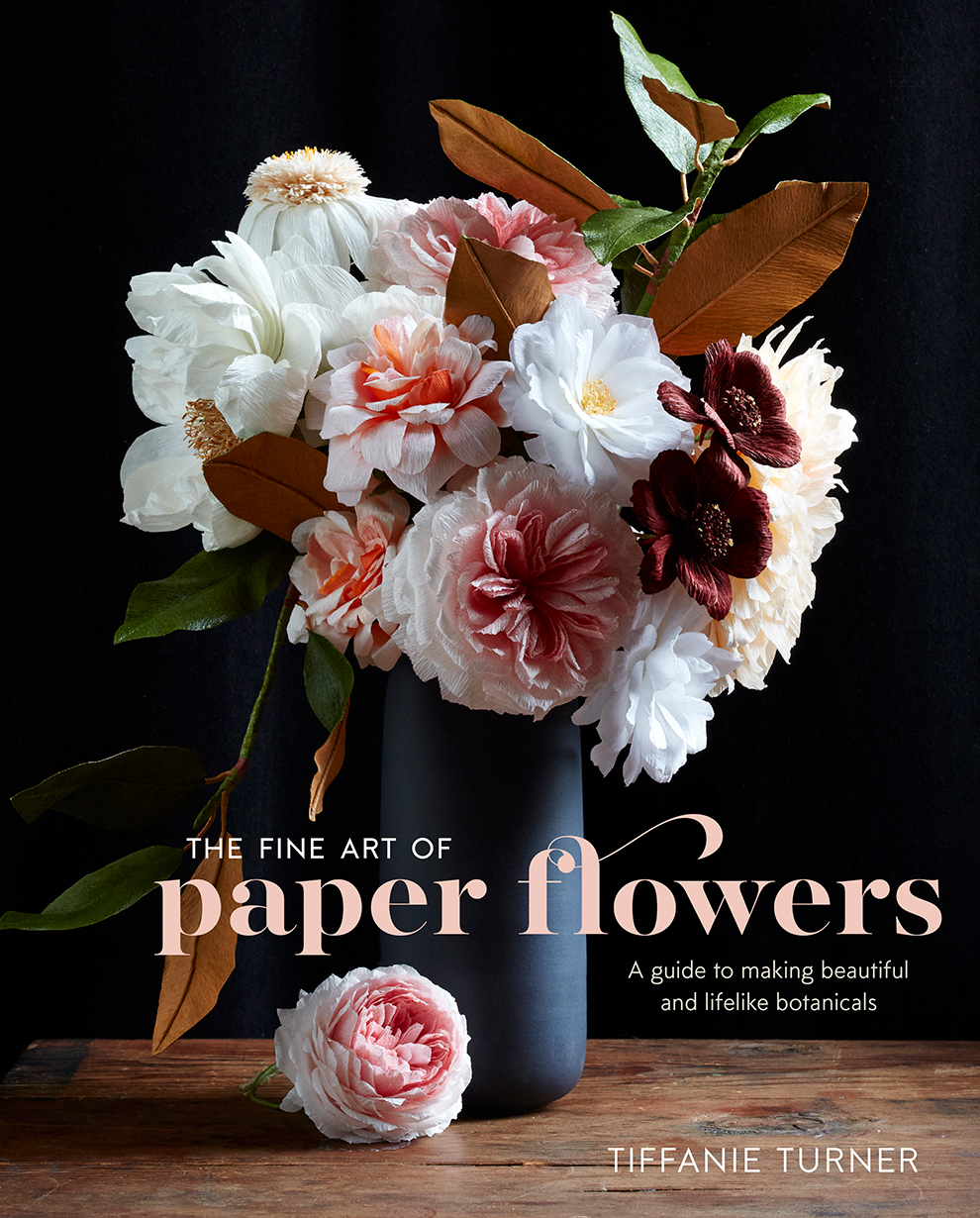 Morning glory fine art of paper flowers and giveaway the house she creates some of the most realistic paper flowers and is now sharing all her mightylinksfo
