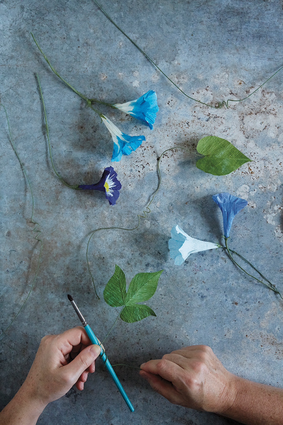 Morning Glory: Fine Art of Paper Flowers