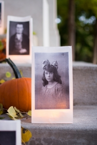 Paper Bag Portrait Luminaries