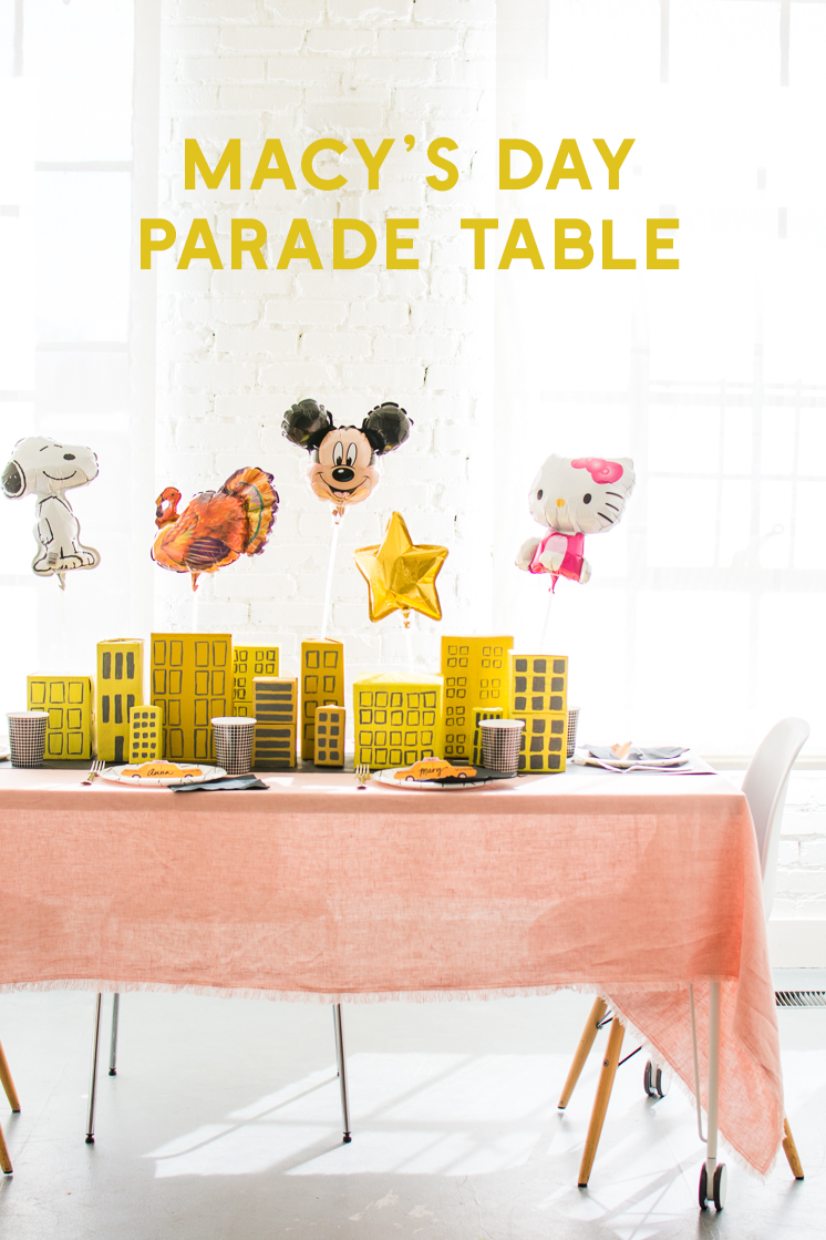 Macy's Day Parade Tablescape-8