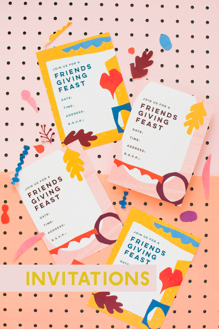 Friendsgiving Printables